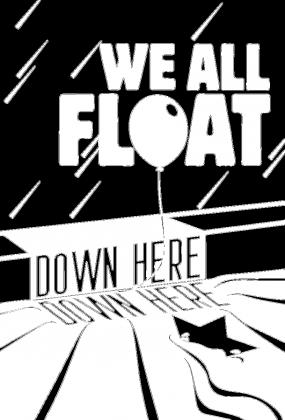 KOSZULKA MĘSKA FLUORESCENCYJNA  WE FLOAT DOWN HERE 2