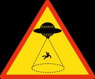 Koszulka Męska Porwanie Przez Ufo