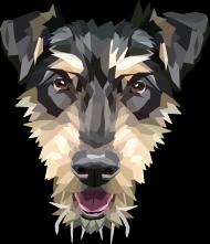 Jagdterrier plakat A2 z Twoim psem męska