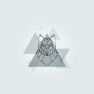 Maseczka wolf