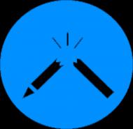 RozsTRZASKANY długopis (damska)