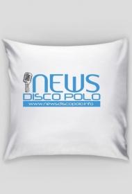 """Poszewka na poduszkę """"Jasia"""" z nadrukiem NewsDiscoPolo"""