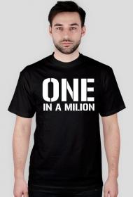 Koszulka t-shirt męski z nadrukiem One in a Milion