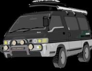 Czapka z Daszkiem typu TRUCKER Auto2