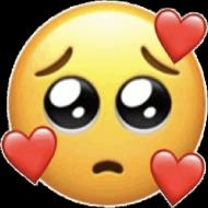 Koszulka Sad Love Emoji Męska