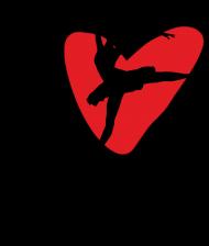 I Love Dance - damska koszulka z nadrukiem