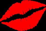 Usta - Damska Bluzka Z Nadrukiem