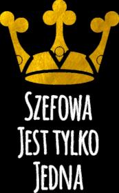 Szefowa jest tylko jedna - złota korona - damska koszulka