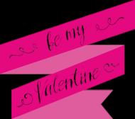 Be My Valentine - zostań moją walentynką - damska koszulka
