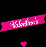 Happy Valentine's Day - szczęśliwych Walentynek - koszulka damska