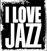 Kocham Jazz - torba - I Love Jazz