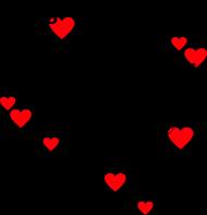 My funny Valentine - poduszka na Walentynki