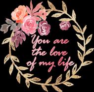 You are the love of my life - prezent na Walentynki