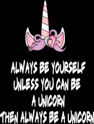 T-shirt, czarny, Unicorns 4