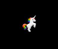 Kubek serduszko, biały, Unicorns 5