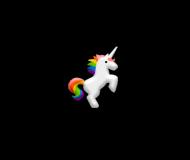 Śpioszki, kolor, Unicorns 5