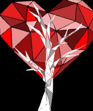 Koszulka dziecięca drzewo sercowe
