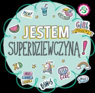 Koszulka dziecięca Jestem Superdziewczyną!