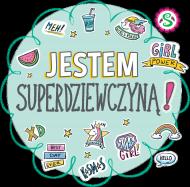 Fartuszek szefowej kuchni Jestem Superdziewczyną!