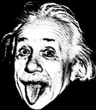 T-shirt z Einsteinem