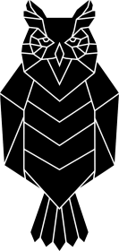 Geometryczna Sowa - Geometric Owl