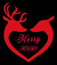 Wesołych Świąt Renifery Zipped Hoodie