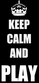 Koszulka damska Keep Calm And Play
