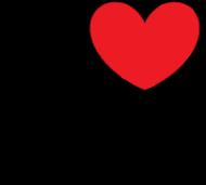Koszulka damska I LOVE MEDICINE / medycyna / lekarz