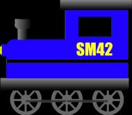 """Koszulka dziecięca """"Lokomotywa SM42"""""""