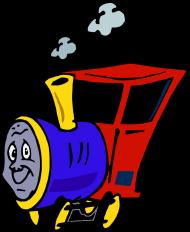 """Koszulka męska """"Wesoła lokomotywa"""""""