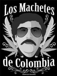 Koszulka Los Machetes Czarna (męska)