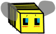 Bluza z Pszczółkom z MINECRAFT