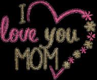 Kubek na dzień matki - I love you mom