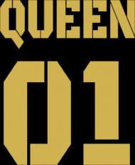 Koszulka Queen 01 Gold