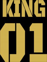 Bluza King 01 Biała Gold