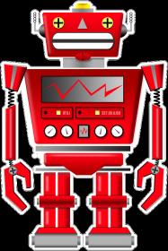 Koszulka z robotem