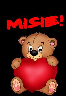 Kubek Podobasz Misie Walentynki