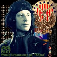 """Bluza męska """"Dywizjon 303 - gen. bryg. pil. d-ca dyw. 303 Witold Urbanowicz"""" biała"""
