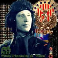 """Kubek """"Dywizjon 303 - gen. bryg. pil. d-ca dyw. 303 Witold Urbanowicz"""""""