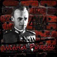 """Bluza męska """"Rotmistrz Witold Pilecki"""" czarna"""