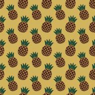 kolorowy plecak z nadrukiem w ananasy
