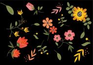 Kwiecista wiosenna maseczka