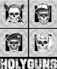 T-Shirt HOLYGUNS 003H