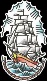 Koszulka Statek