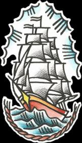 Bluza Statek