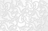maseczka kolorowa z wzorem biała