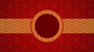 maseczka kolorowa z wzorem koło