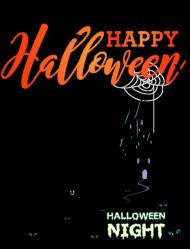 Koszulka damska Happy Halloween 002