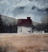 Samotny domek męska