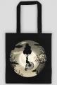 Bike on moon steampunk, vintage - bag